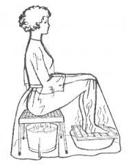 baños de hierbas y vapor para embarazarse